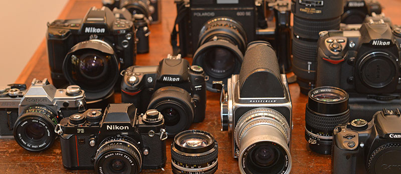 Used New Film Cameras and Accessories in Philadelphia